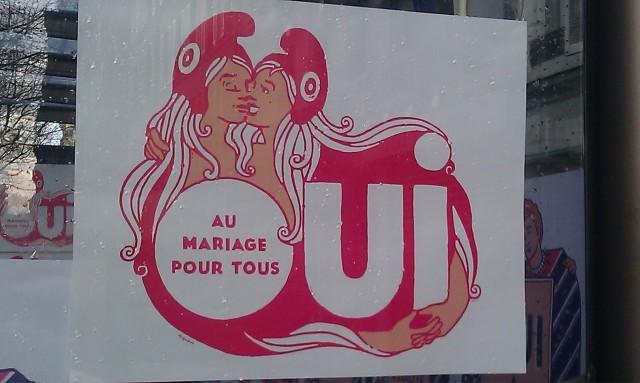 Oui au mariage pour tous []