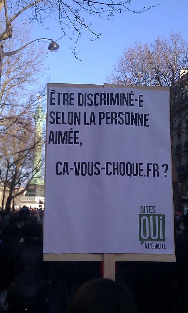 être discriminé(e) selon la personne aimée, ça-vous-choque.fr?, dites oui à l'égalité []