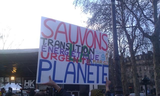 Sauvons la planète, transition énergétique urgente []