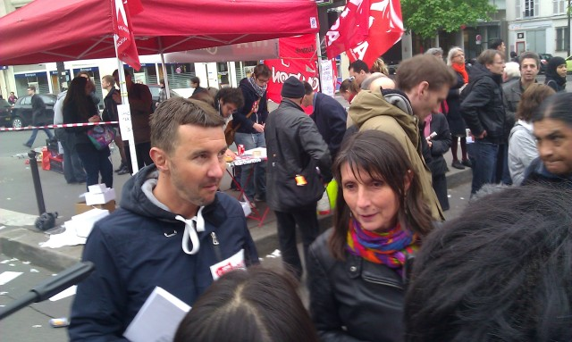 Olivier Besancenot et Christine Poupin, NPA []