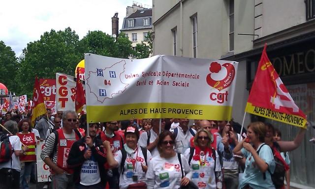 Union syndicale départementale CGT Alpes de Haute Provence []