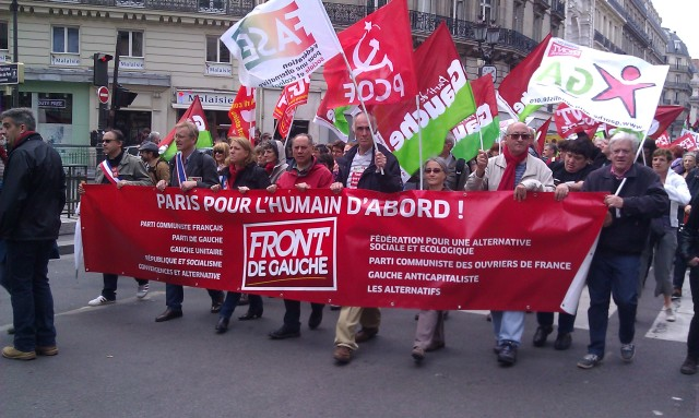 Paris pour l'humain d'abord, Front de Gauche [Paris for the human being first, Left-wing Front]