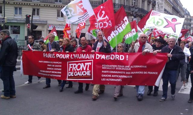Paris pour l'humain d'abord, Front de Gauche [Paris for the human being first, Left-wing Front]