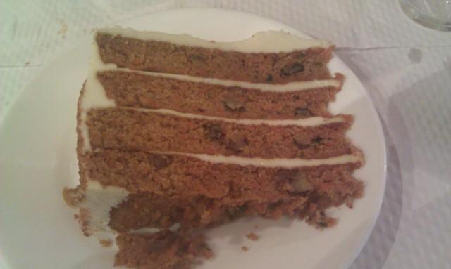 Gâteau aux carottes [Carrot cake]
