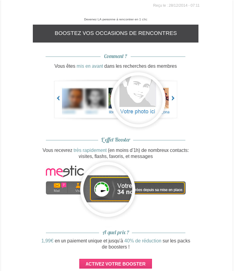 Avis site de rencontre meetic affinity
