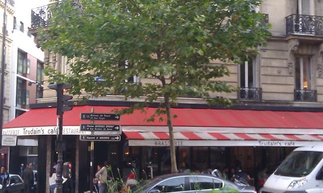 Trudain's café