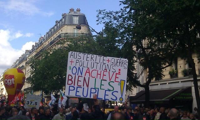 Austérité + guerres + pollutions : on achève bien les peuples! [Austerity + wars + pollutions: we finish off the people!]