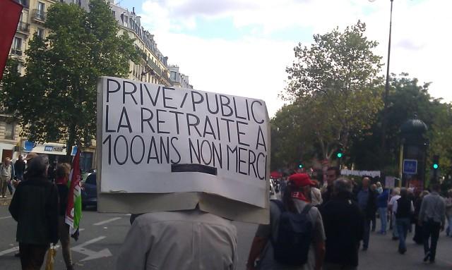 Privé / public, la retraite à 100 ans merci [Private / public, retirement at 100 years old thank you]
