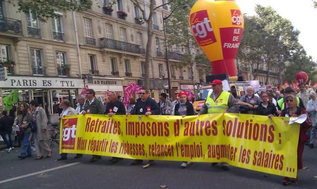 , CGT Ile-de-France [, CGT Paris metropolitan region]