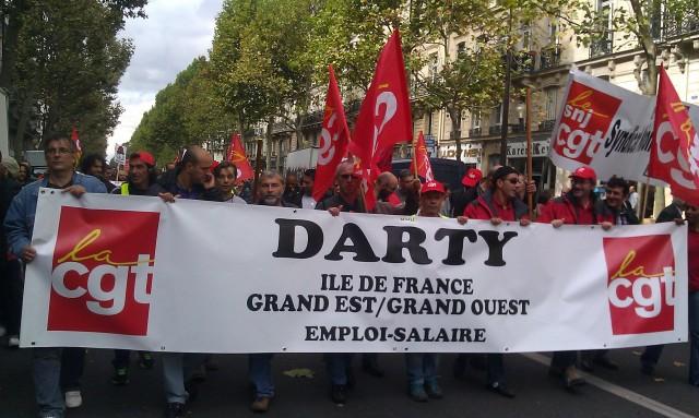 CGT Darty Ile-de-France, Grand est, Grand ouest []