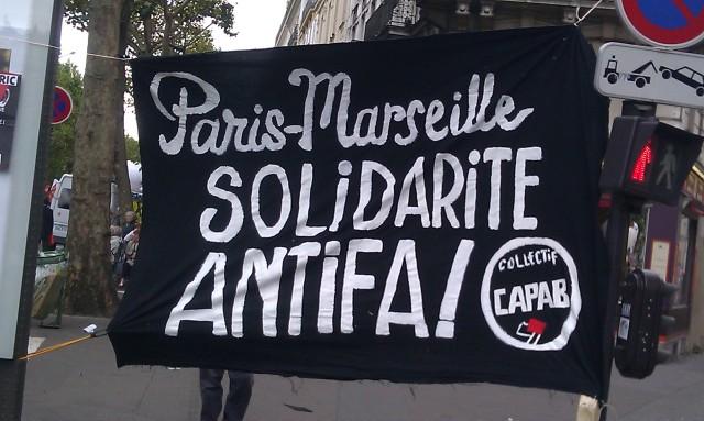 Paris-Marseille, solidarité antifa!, CAPAB [Paris-Marseille, solidarity antifa!, CAPAB]