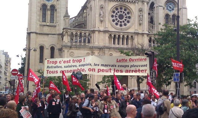 , Lutte Ouvrière [, Workers Struggle]