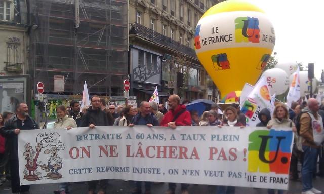 , FSU Ile-de-France [, FSU Paris metropolitan region]