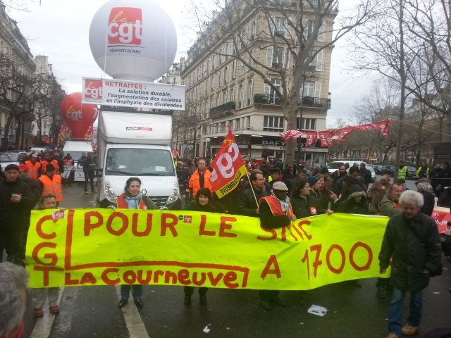 Pour un SMIC à 1700 €, CGT La Courneuve [, CGT La Courneuve]