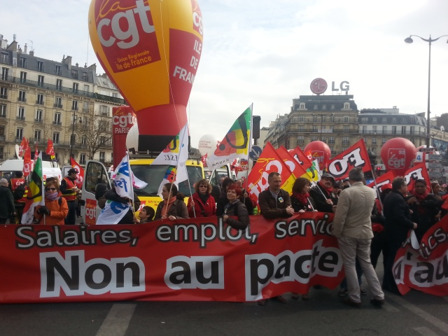 Non au pacte de responsabilité, CGT [No to the pact of responsibility, CGT]