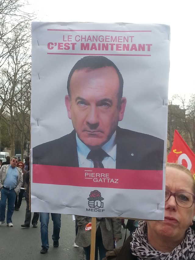 Le changement, c'est maintenant, Pierre Gattaz [The change is for now, Pierre Gattaz]