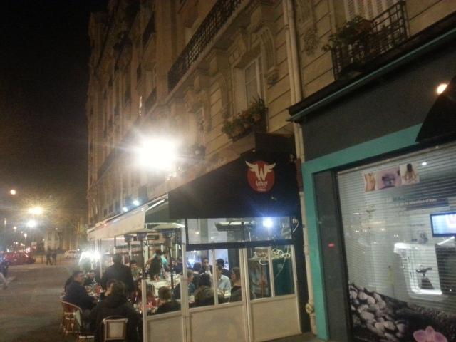 Façade du restaurant Le comptoir de l'épicerie du Père Claude [Frontage of the restaurant Le comptoir de l'épicerie du Père Claude]