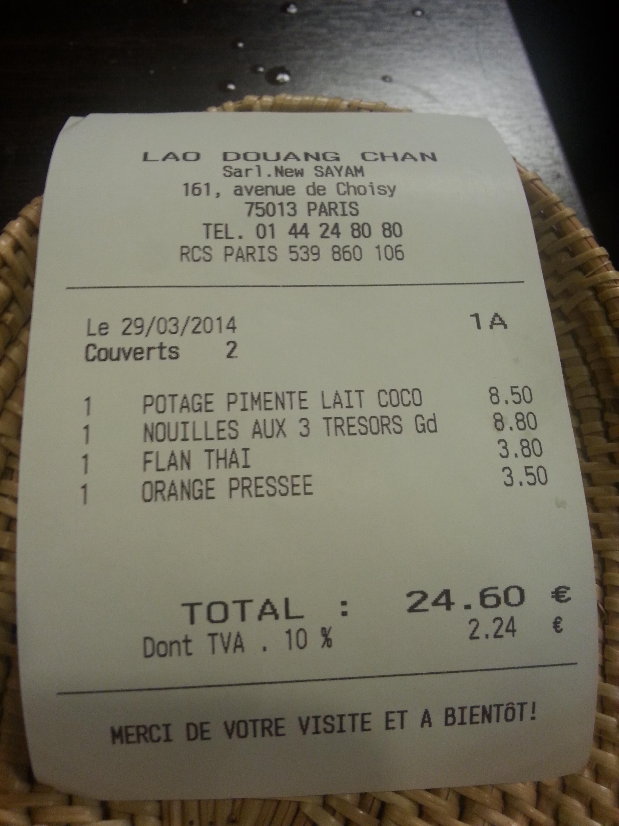 Ticket Restaurant Et Leclerc Drive