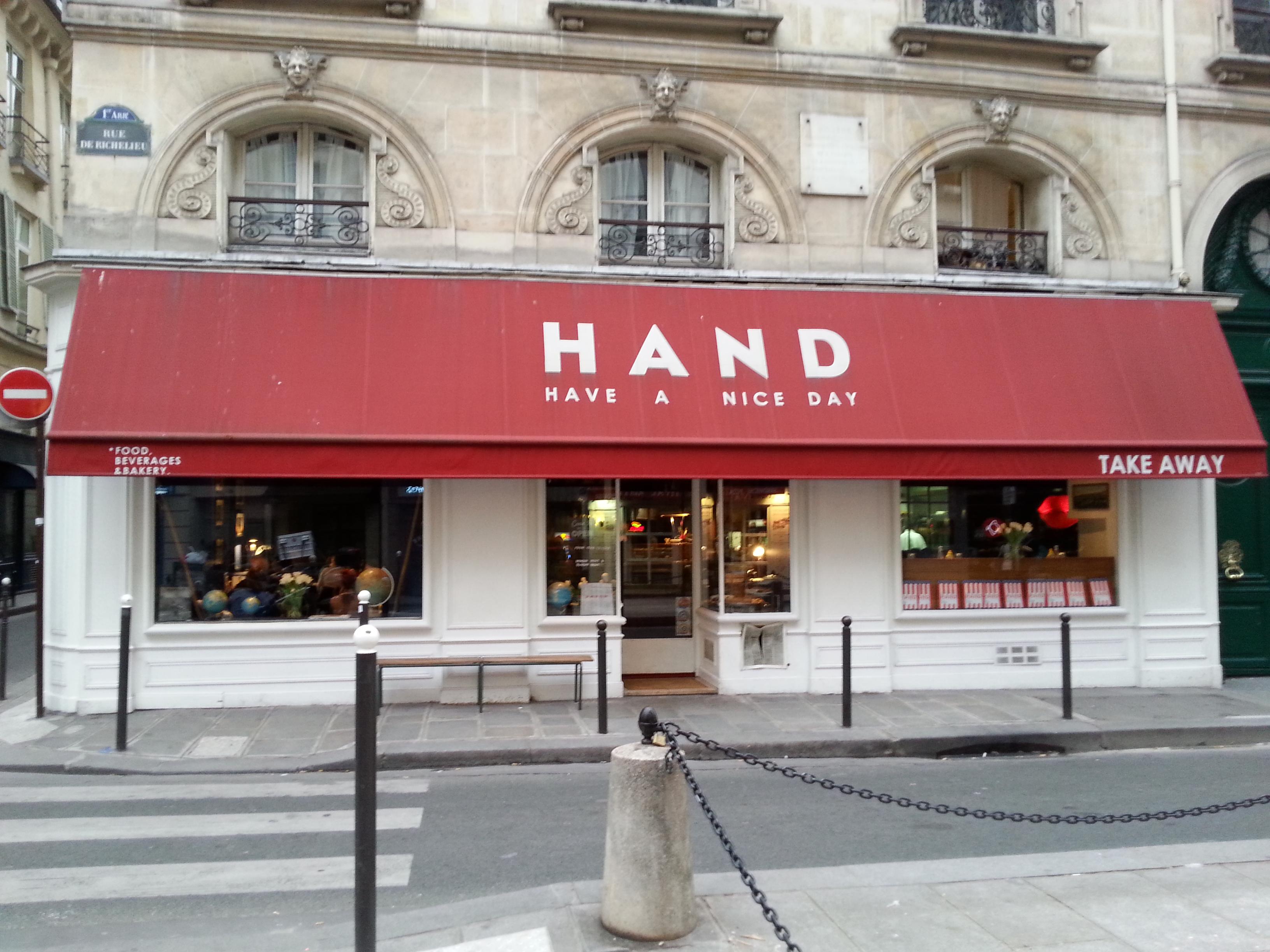 Restaurant Americain Paris