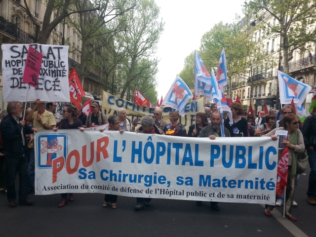 Association du comité de défense de l'hôpital public et de sa maternité [Association of the defense committee of the public hospital and its maternity]