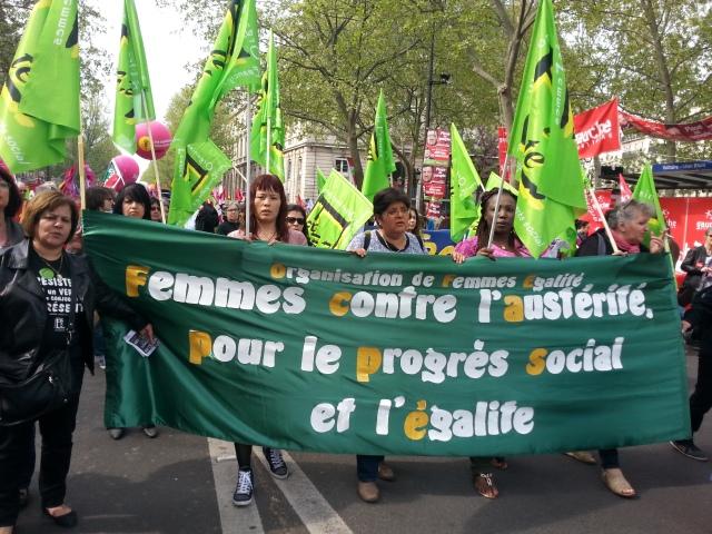 Organisation de femmes égalité [Organisation of women equality]