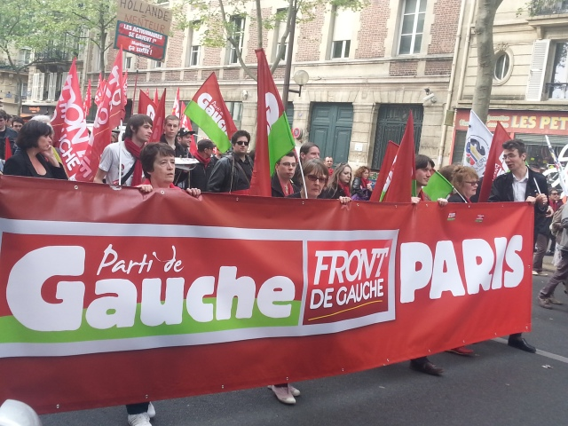 Parti de gauche [Left-wing party]