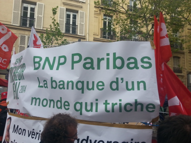 BNP Paribas la banque d'un monde qui triche [BNP Paribas the bank of a world that cheats]