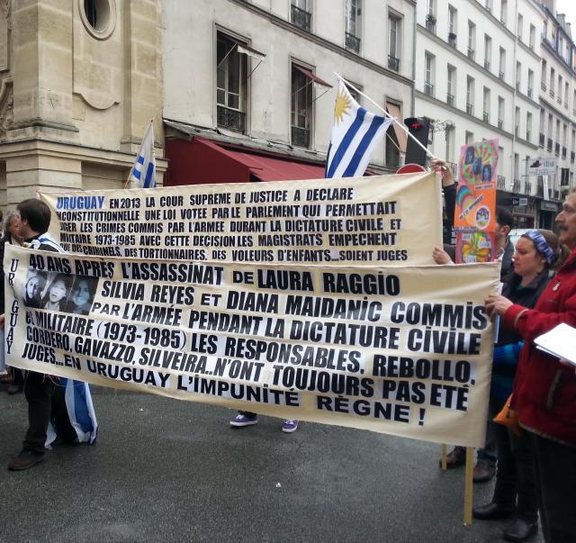 En Uruguay l'impunité règne [In Uruguay impunity prevails]