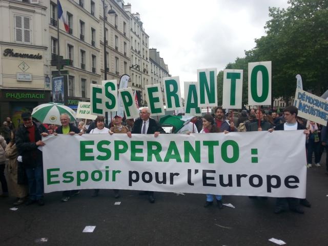 Esperanto : Espoir pour l'Europe [Esperanto: Hope for Europe]