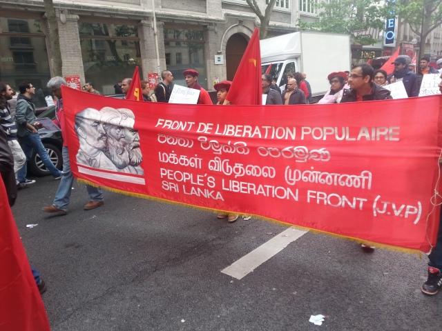 Front de libération populaire Sri Lanka [People's liberation front Sri Lanka]