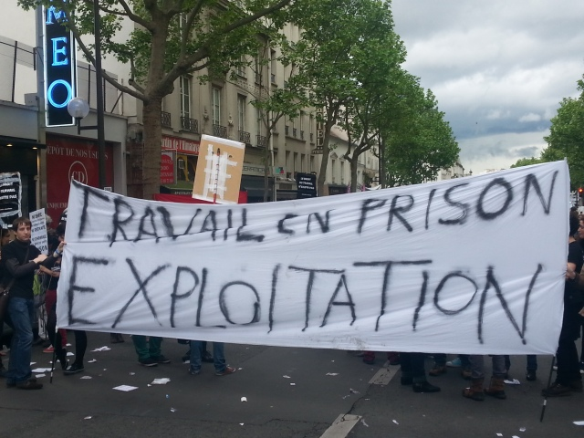 Travail en prison exploitation [Prison work exploitation]