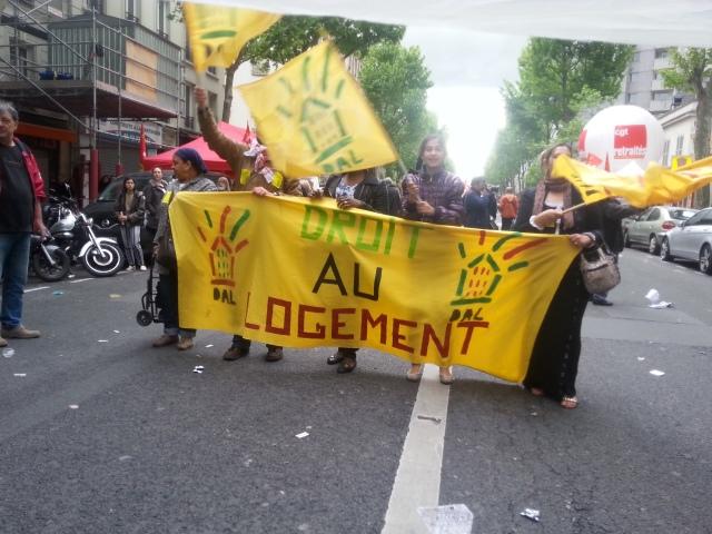 Droit au logement [Right in the housing]