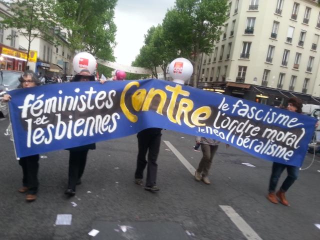 Féministes et lesbiennes contre le fascisme, l'ordre moral et le néolibéralisme [Feminists and lesbians against fascism, moral order and neoliberalism]