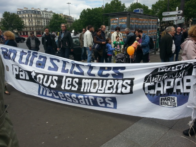 Antifascistes par tous les moyens nécessaires, CAPAB [Antifascists by all necessary means, CAPAB]