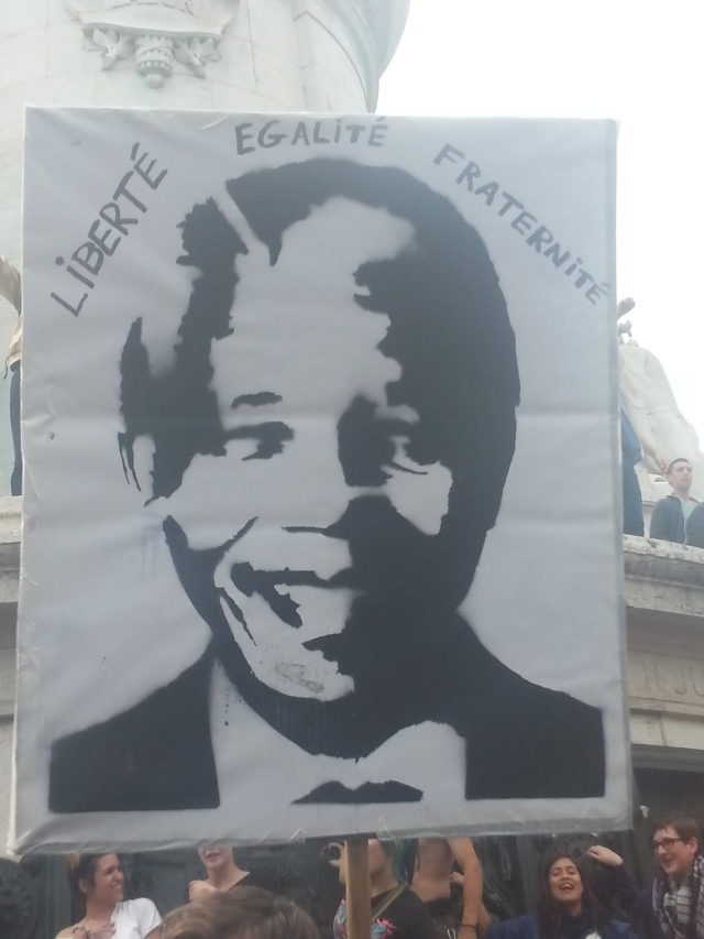 Liberté, égalité, fraternité [Liberty, equality, fraternity]