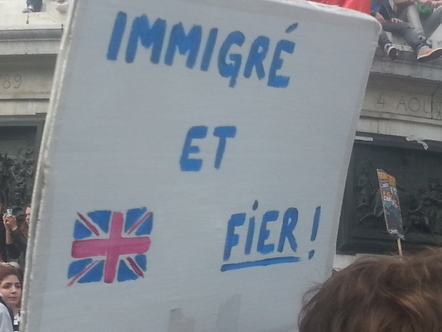Immigré et fier [Immigrant and proud]