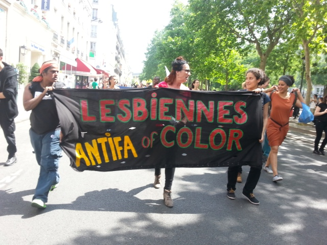 Lesbiennes antifascistes de couleur [Lesbian antifascists of color]