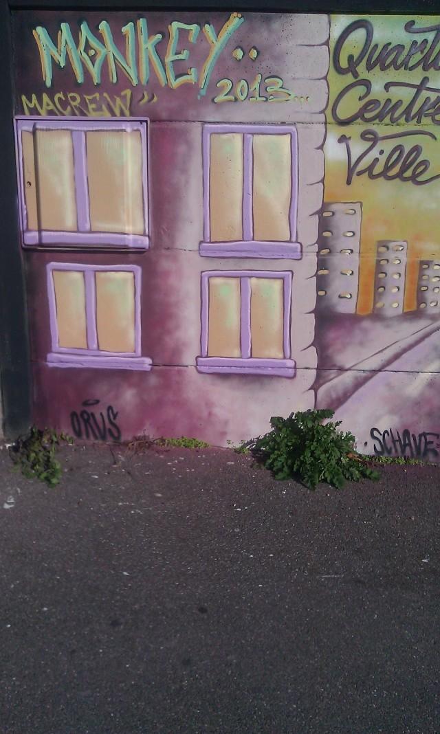Art de rue à Bagnolet [Street art in Bagnolet]