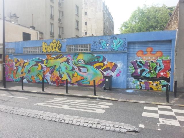 Art de rue à Montreuil, rue André Chéreau [Street art in Montreuil, André Chéreau street]