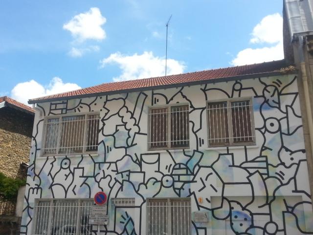 Art de rue à Bagnolet, 11 rue Paul Vaillant Couturier [Street art in Bagnolet, 11 Paul Vaillant Couturier's street]