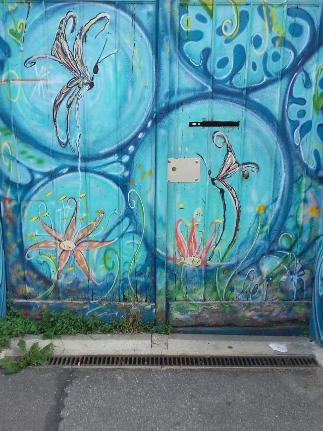 Art de rue à Bagnolet, 30 rue Charles Graindorge [Street art in Bagnolet, 30 Charles Graindorge's street]
