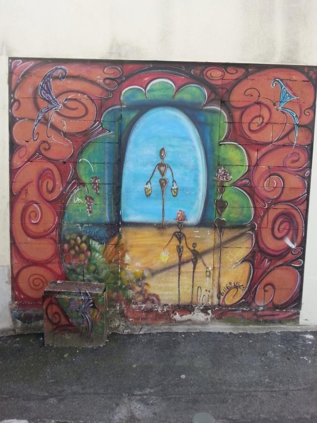 Art de rue à Bagnolet, 3 rue Marie Anne Colombier [Street art in Bagnolet, 3 Marie Anne Colombier's street]