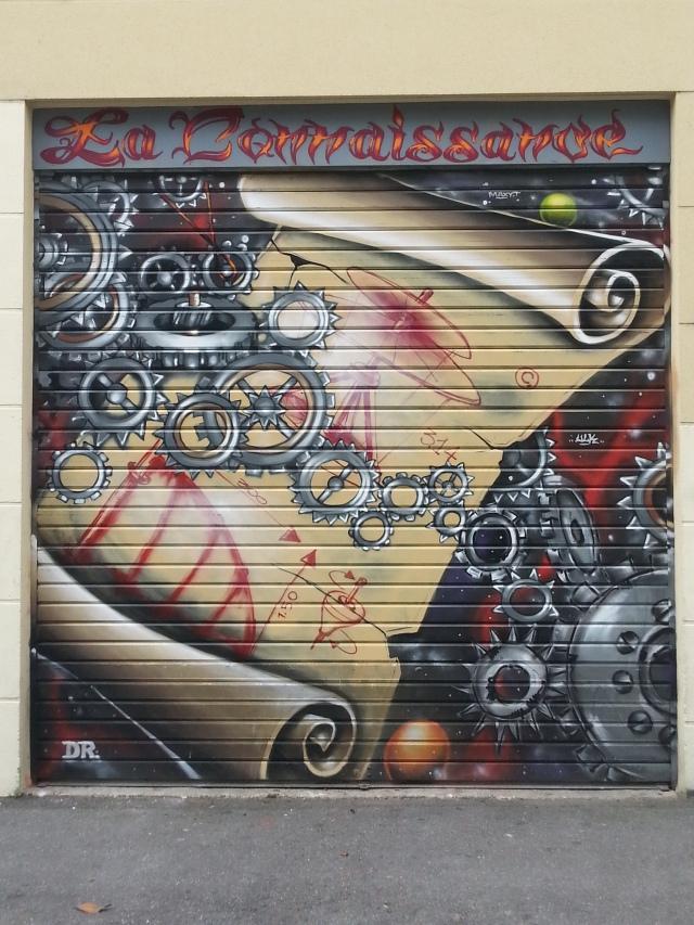 Art de rue à Bagnolet, 64 rue Jules Ferry [Street art in Bagnolet, 64 Jules Ferry's street]