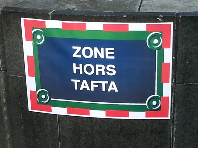 Zone hors TAFTA [Off TAFTA area]