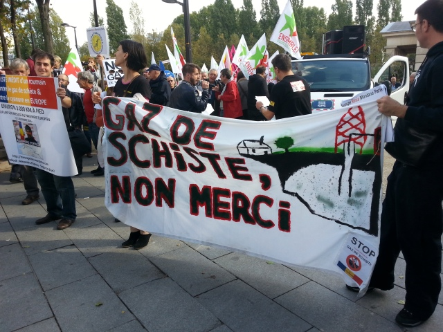 Gaz de schiste, non merci [Shale gas, no thanks]