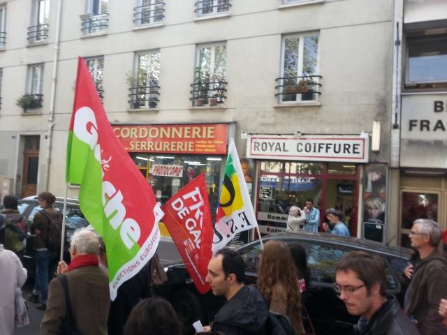 Parti de gauche et FSU [Left-wing party and FSU]