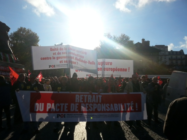 Retrait du pacte de responsabilité, POI [Withdrawal of the pact of responsibility, POI]