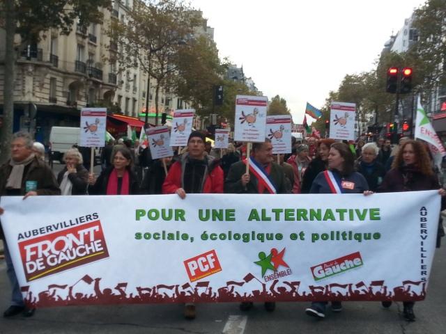 Front de gauche Aubervilliers [Left-wing front Aubervilliers]