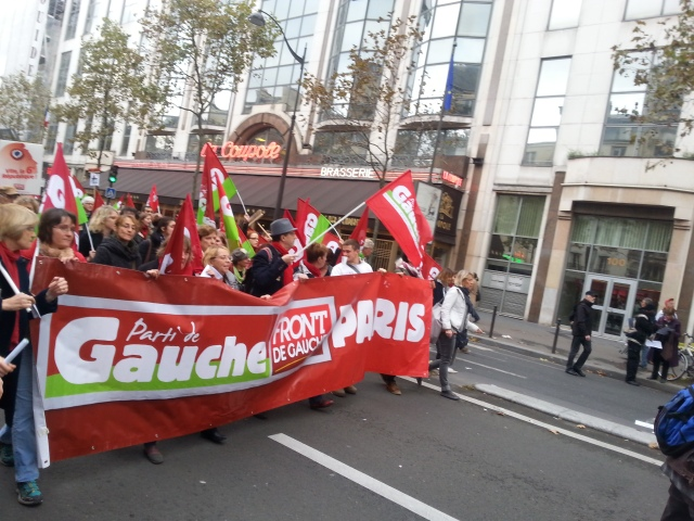 Parti de gauche Paris [Left-wing party Paris]