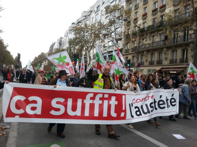 Ca suffit! Contre l'austérité, ensemble [Enough is enough! Against austerity, together]